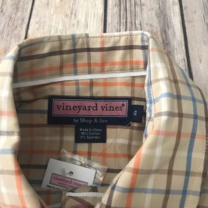 Vineyard Vines Tops - NWT Vineyard vines ruffle front button up